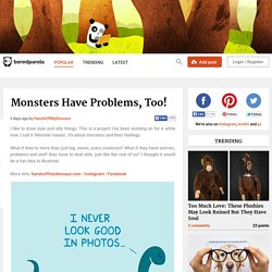 Monsters Have Problems, Too!