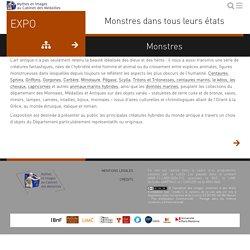 """Expo """"Monstres dans tous leurs états · Mythes et images"""" au Cabinet des médailles"""
