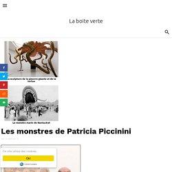 Les monstres de Patricia Piccinini