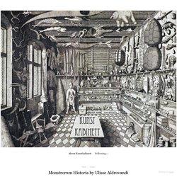 Monstrorum Historia by Ulisse Aldrovandi - Kunstkabinett
