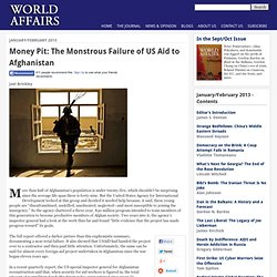Money Pit: The Monstrous Failure of US Aid to Afghanistan