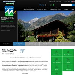 Mont Blanc Hotel Village *****