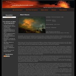 Mont Vésuve - Volcans du monde