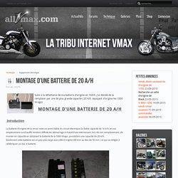 Montage batterie 20 A/h - AllVmax