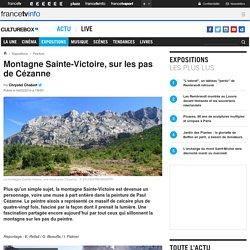 Montagne Sainte-Victoire en vidéo, Cézanne