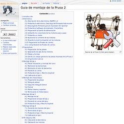 Guia de montaje de la Prusa 2 - WikiRobotics