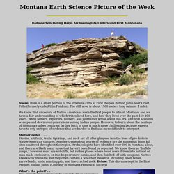 Montana Earth Science Picture of the Week