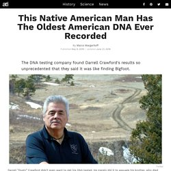 This Montana Man Officially Has The Oldest American DNA Ever Tested