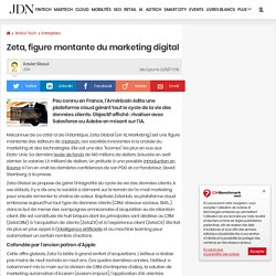 Zeta, figure montante du marketing digital