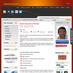 Montare video online con WeVideo