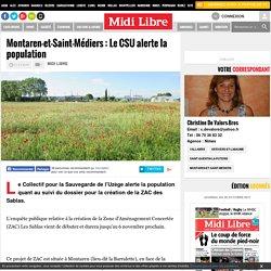 Montaren-et-Saint-Médiers: Le CSU alerte la population