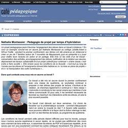 Nathalie Montassier : Pédagogie de projet par temps d'hybridation