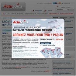 ACTU SOINS 24/01/15 L'hôpital de Montbéliard contre le gaspillage alimentaire