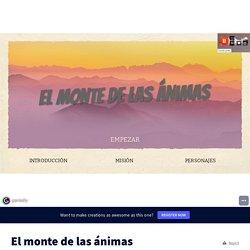 El monte de las ánimas by Pablo AF on Genially