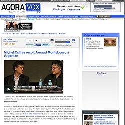 Michel Onfray reçoit Arnaud Montebourg à Argentan