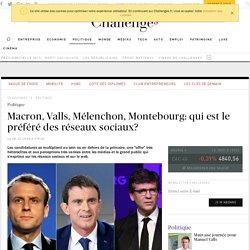 Macron, Valls, Montebourg... Le candidat de gauche préféré des réseaux sociaux