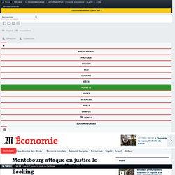 Montebourg attaque en justice le site de réservations d'hôtel Booking