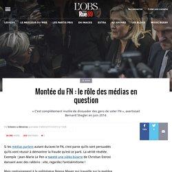 Montée du FN: le rôle des médias en question