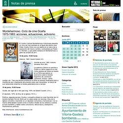 Montehermoso. Ciclo de cine Ocaña 1973-1983: acciones, actuaciones, activismo « Notas de prensa
