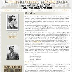 Montéhus - Biographie