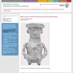 Mujeres de barro : estudio de las figurinas cerámicas de Montelíbano