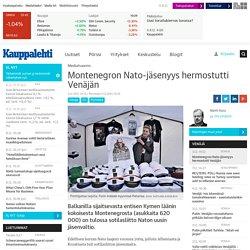 Montenegron Nato-jäsenyys hermostutti Venäjän