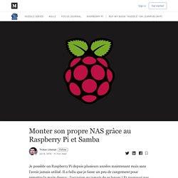 Monter son propre NAS grâce au Raspberry Pi et Samba