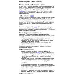 Montesquieu - HDP