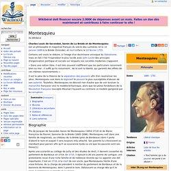 Montesquieu — Wikiberal