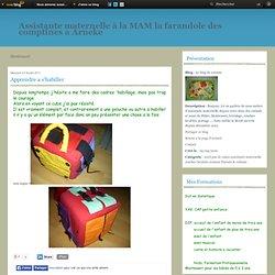 montessori - Apprendre a… - Tout pour clouer - Trapenum - Chaud ou froid - Le blog de corinne