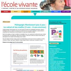 Montessori : le calcul et les maths