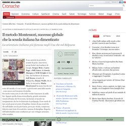 Il metodo Montessori, successo globale che la scuola italiana ha dimenticato