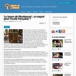 Le boom de Montessori : un espoir pour l'école française ?