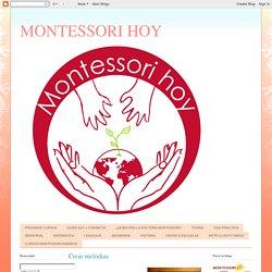 MONTESSORI HOY: enero 2012
