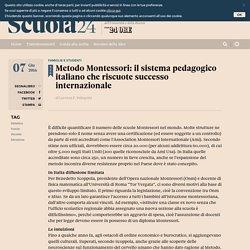 Metodo Montessori: il sistema pedagogico italiano che riscuote successo internazionale