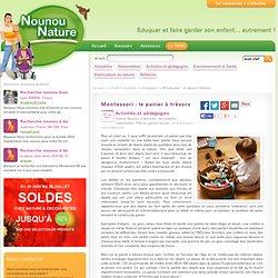 Montessori Le panier à trésors