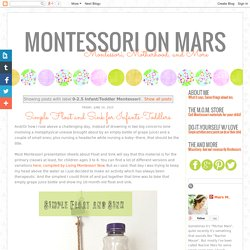 Montessori on Mars: 0-2.5 Infant/Toddler Montessori