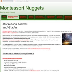 Montessori Albums and Guides