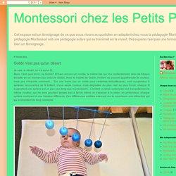 Montessori chez les Petits Pois: Gobbi n'est pas qu'un désert