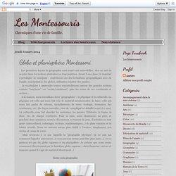 Globe et planisphère Montessori