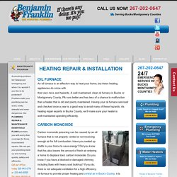 Furnace Repair Montgomery County PA