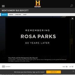 Montgomery Bus Boycott - Black History