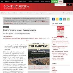 California's Migrant Farmworkers