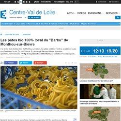 """FRANCE 3 CENTRE 29/12/15 Les pâtes bio 100% local du """"Barbu"""" de Monthou-sur-Bièvre"""
