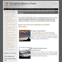 20140622 Montmartre butte blanche, Montmartre butte rouge