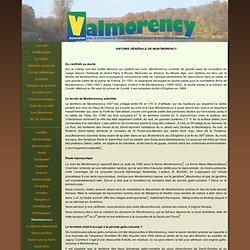 Montmorency - Association Valmorency