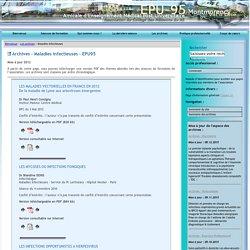 EPU-95 Montmorency03/05/12LES MALADIES VECTORIELLES EN FRANCE EN 2012 - De la maladie de Lyme aux arboviroses émergentes