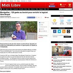 Montpellier : 120 geeks au boulot pour enrichir le logiciel libre Drupal