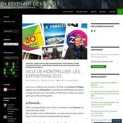Ville de Montpellier : les expositions 2015