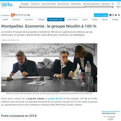 Montpellier. Economie : le groupe Nicollin à 100 %